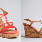 Salvatore Ferragamo Platform Sandals - Savita Wedge ORIG $495.00 SALE $346.50