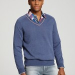 BOSS Orange Kandres V Neck Sweater Bloomingdales $145