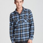 Jack Spade Buck Flannel Work Shirt ORIG $185.00 WAS $111.00 NOW $66.60