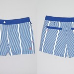 Original Penguin Stripe Box Swim Shorts ORIG $69.00 SALE $41.40