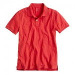 Slub cotton polo was $42.50  select colors $29.99