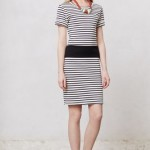 Gauged Stripe Dress Anthropologie $148