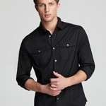 John Varvatos USA LUXE Double Pocket Sport Shirt - Slim Fit ORIG $158.00 SALE $94.80