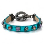 MARC BY MARC JACOBS Jeweled Leather Bracelet Bloomingdales $98.00