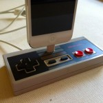iPhone 5 Dock - Nintendo Controller Docking Station Geek Unique Etsy $49.99