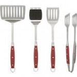 Red Handle Grilling Tools Crate and Barrel $16.95