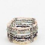 If You Like This, You Might Be Into These   Beaded Stretch Cuff Bracelet Urban Outfitters $14.00