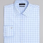 The Men's Store at Bloomingdales Tonal Check Dress Shirt - Regular Fit Bloomingdales Regular -$79.50 Sale Price - $53.66