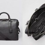 Burberry Ormond Pebbled Leather Brief case Bloomingdales $1,595.00