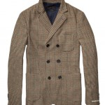 Woolly Double-Breasted Blazer Scotch and Soda $225.00