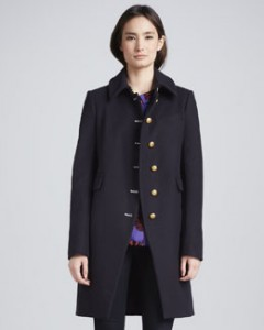 MARC by Marc Jacobs Nicoletta Military-Style Jacket Neiman Marcus $768