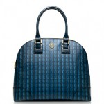 ROBINSON PRINTED DOME SATCHEL Tory Burch $395