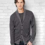 John Varvatos Shawl Collar Cardigan $498