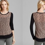 Splendid Sweater - Fireside Knit Color Block Bloomingdale's $88