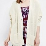 Coincidence & Chance Waffle-Knit Cardigan Urban Outfitters $69.00