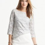 Sequin and Lace Top $59.50