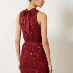 Sequin Cutout Dress Anthropologie $188