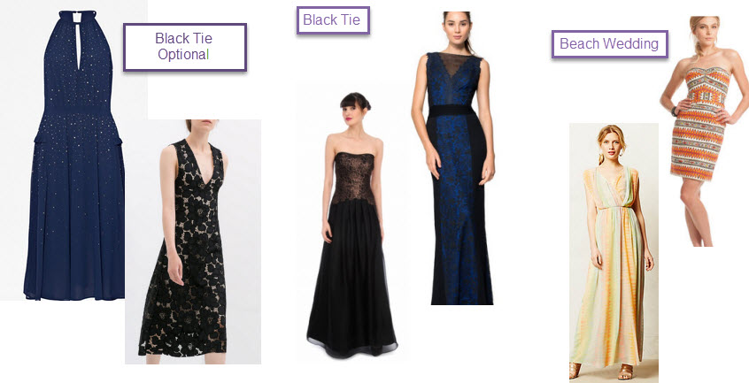 Black Tie Optional Wedding Di S Dresses